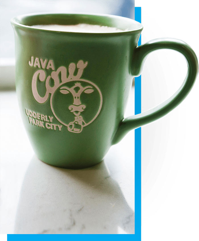 Cup-of-Java-Cow-coffee-in-iconic-Java-Cow-logo-mug-small